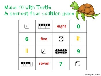 Addition Games Bundle 4 In A Row