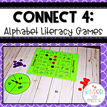 Connect 4: Alphabet Literacy Games