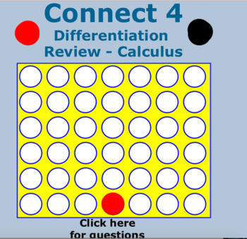 Connect 4 - Derivatives Review