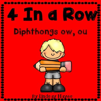 4 In a Row: Diphthongs ow, ou