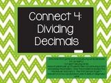 Connect 4: Dividing Decimals Game