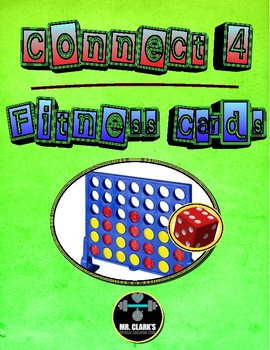 Connect 4 Fitness Cards