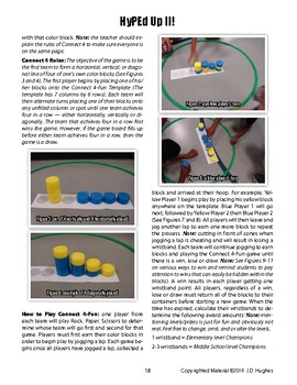 Connect 4-Fun Fitness Game of Strategy for Physical Education
