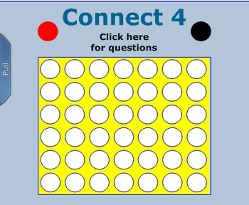 Connect 4 Game Simplifying Monomials Review