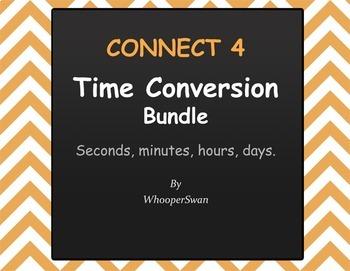 Connect 4 Game - Time Conversion Bundle