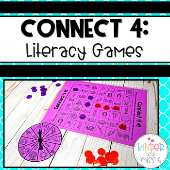 Connect 4-Literacy Games