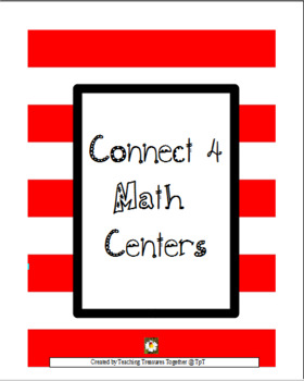 Connect 4 Math Centers
