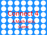 Connect 4: Math Fact Game