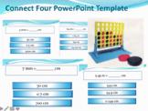 Connect 4 - Math Measurement Review Game for Metric Conversions (km, m, cm, etc)