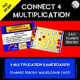 Connect 4 Multiplication TEKS 3.4F  Practice Multiplication Facts