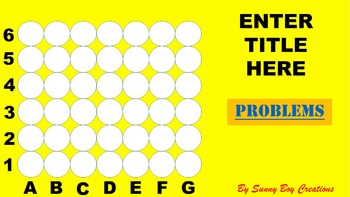 Connect 4 Powerpoint Game Template