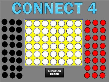 Connect 4 Review (Google Slides Game Template) by ROOMBOP | TpT