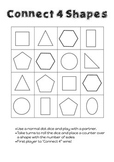 Connect 4 Shapes