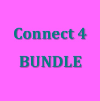 Connect 4 Verb games in Italian Bundle