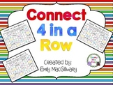 Connect 4 in a Row - A High Frequency Words Game
