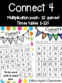 Connect 4 multiplication - 11 games #ausbts18