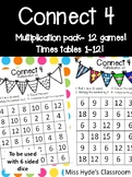 Connect 4 multiplication - 11 games #ausbts19