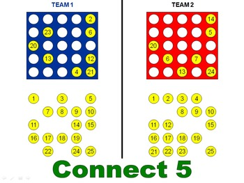 Connect 5 (PowerPoint Game)