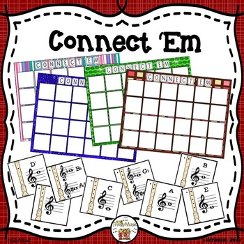 Connect 'Em (Recorder Fingering Review Game)