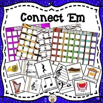 Connect 'Em Review Game Bundle