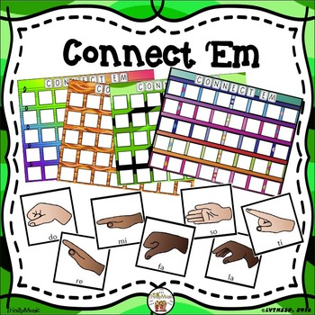 Connect 'Em (Solfege Hand Signs Review Game)