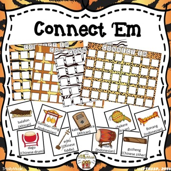 Connect 'Em (World Instrument Review Game)