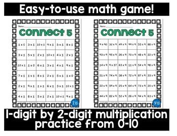 Multiplication Game 2 x 1 Digit