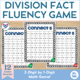 Division Game 2 Digits by 1 Digit