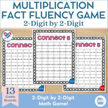 Multiplication Game 2 x 2 Digit