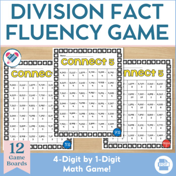 Division Game 4 by 1 Digit