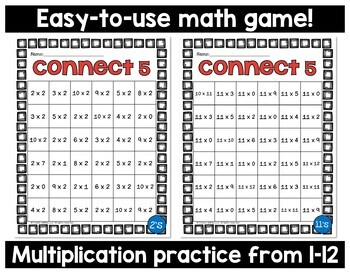 Multiplication Game 1x1 Digit