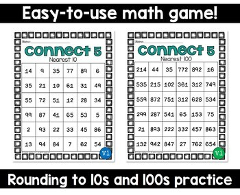 Rounding to Nearest 10 and 100 Game