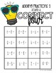 Connect Four Adding Fractions Game | Includes Improper and Mixed Numbers