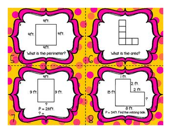 Connect Four Area + Perimeter