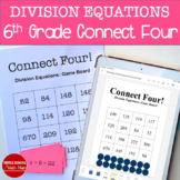 Connect Four: Division Equations