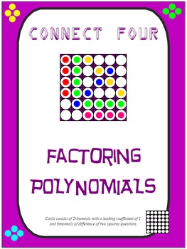 Connect Four - Factoring Polynomials