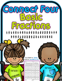 Basic Fractions - Connect Four in a Row Game