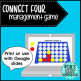Connect Four Classroom Management Game (Distance Learning Option)