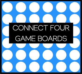 Connect Four Game Boards