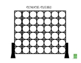 Connect Four - Game Template for Spanish Class