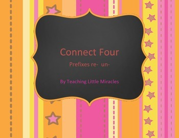 Connect Four Game with prefixes re and un