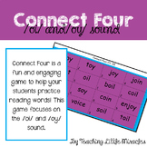 Connect Four Game - Diphthongs OI and OY