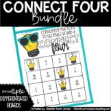 Connect Four Games Bundle   Math Game Bundle