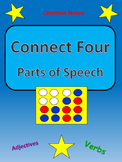 Connect Four Grammar - Parts of Speech Full Game Packet