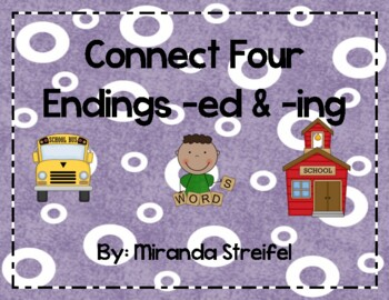 Connect Four-Inflected Endings -ed & -ing