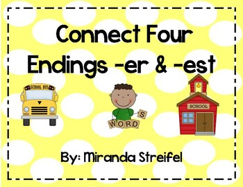 Connect Four-Inflected Endings -er & -est