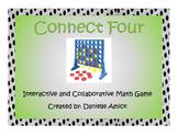Connect Four Interactive Math Game - Place Value - 5.NBT.A.2