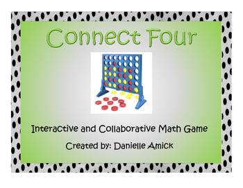 Connect Four Interactive Math Game - Decimals Rounding - 5.NBT.A.4