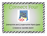 Connect Four Interactive Math Game - Multiplication - 5.NBT.B.5