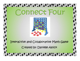 Connect Four Interactive Math Game - 5.NBT.B.7 (Multiplica